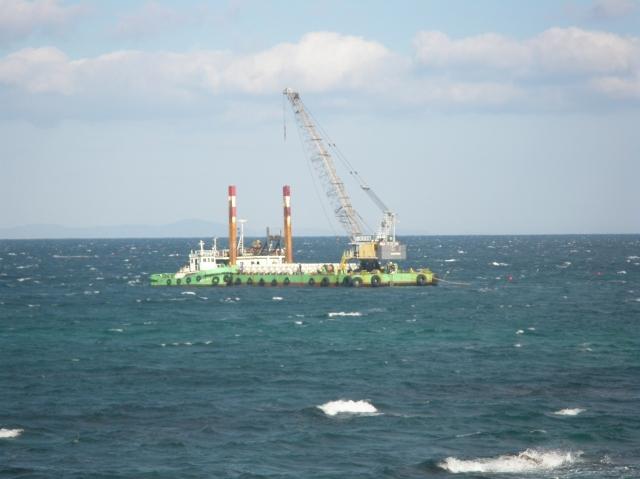 甲賀工区藻場造成その3工事