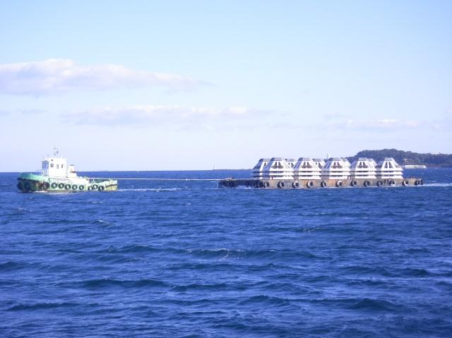 鳥羽磯部工区 海女漁場等環境基盤整備事業藻場造成工事
