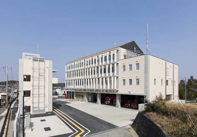 消防本部庁舎等建設工事(建築工事)