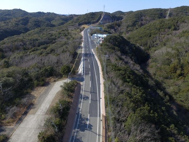 主要地方道鳥羽磯部線(逢坂峠)道路改良工事
