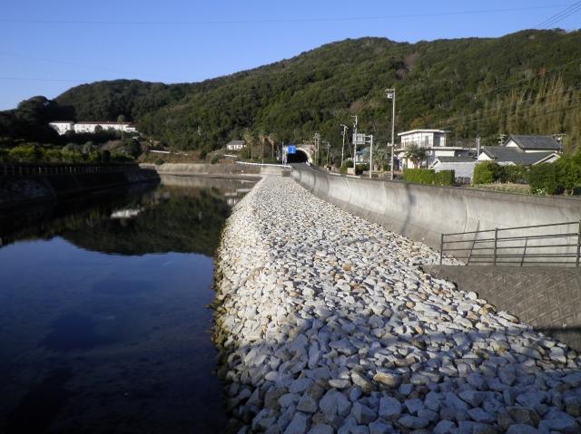 南張地区海岸 海岸高潮対策工事