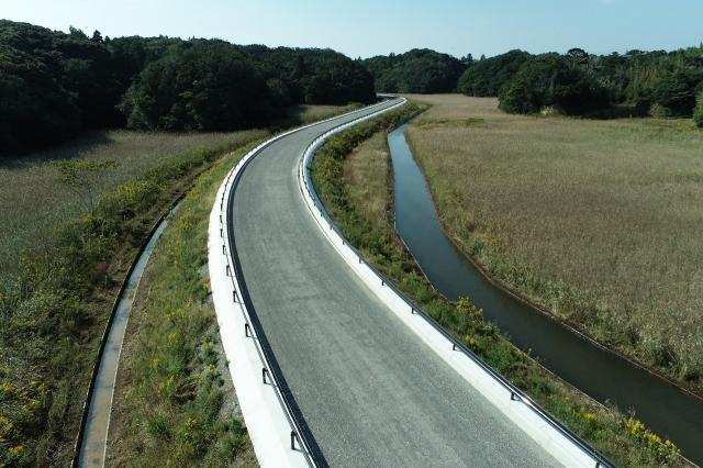 主要地方道磯部大王線(志島BP・甲賀)道路改良工事
